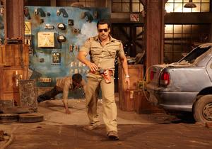 """Salman Khan in """"Dabangg 2."""""""